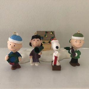 Hallmark Peanuts Keepsake Ornaments Display